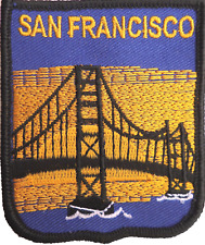 United States of America USA San Francisco Golden Gate Bridge Embroidered Patch