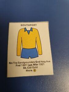 Southport Seafarer Football wallchart Poster Cut-outs