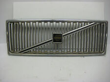 Volvo 740 760 Bright Grille w/ New Center Emblem Sticker. 1985 - 1990