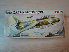 FROG - HUNTER F.G.A.9 - GROUND ATTACK FIGHTER - 1/72 - ANCIEN -