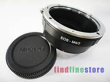Adapter for Canon EOS EF Lens to Micro 4/3 M4/3 E-P3 E-PL1 E-PL2 G1 GF2 G3 + CAP