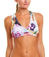 La Blanca Bloom Women's Crossback Cut-Out Bra Bikini Top - Size 10 / 12  DD