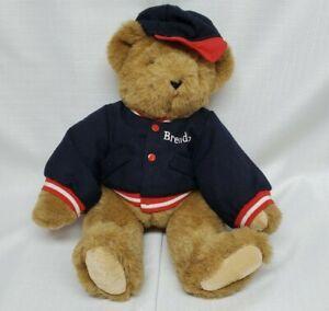 Vtg 1994 Vermont Teddy Bear Plush Cap Jacket Tim McGraws Best Friend Brenden
