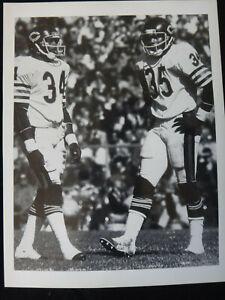 Vintage Photo: Chicago Bears Walter Payton & Roland Harper 1980s