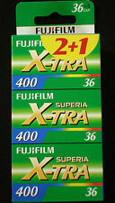 Fuji Superia X-TRA 400 36 on the. 3 Films MHD/Expiry Date 02/2019