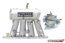 Skunk2 Intake Manifold Silver & 70mm Throttle Body Alpha for Prelude H22A1 H22A4