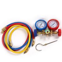 R134A, R12, R22 & R502 A/C Refrigeration Charging Service Manifold Gauge Set Kit