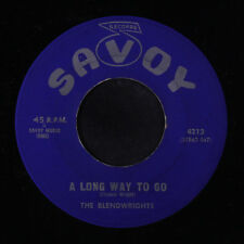 BLENDWRIGHTS: A Long Way To Go / God Bless The Song 45 Black Gospel
