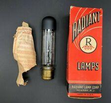 Vintage Projector Lamp Bulb Radiant Lamp Corp 500W 120V T10 Medium Prefocus