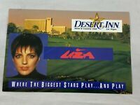 Vintage The Stars Desert Inn Las Vegas Postcard Liza Minnelli