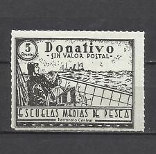 0329-SELLO FISCAL NUEVO ESCUELAS PESCA** 5 PTS REVENUE