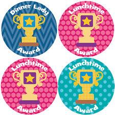 144 Dinnertime Trophies 30mm Children's Clean Plate Reward Stickers