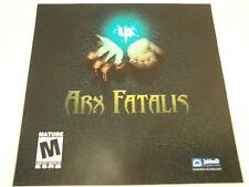 Arx Fatalis Computer Game PC 2002