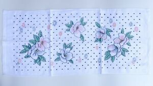 Floral Polka Dot Towel Face Bath Cloth Wash Set 100% Cotton Absorbent Washcloths