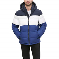 Tommy Hilfiger Men's Ultra Loft Insulated Classic Hooded Puffer Jacket Coat NEW