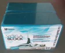 PharMeDoc Foam Yoga Block 2 Pack High Density EVA Lightweight Foam Block