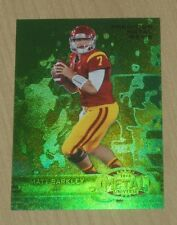 2013 Fleer Retro Football GREEN Precious Metal Gems PMG Matt Barkley rookie 6/10