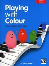 Jugando con color elemental aprende a jugar Principiante fácil música de piano libro 2