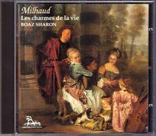MILHAUD Les charmes de la vie Album de Bovary Tango BOAZ SHARON Unicorn-Kanchana