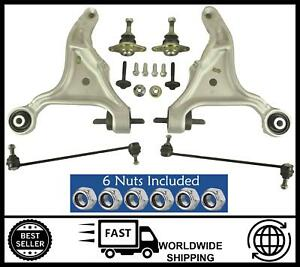 KIT Front Wishbone Arms, Ball Joints, Drop Links FOR Volvo V60 V70 2.0 2.4 2.5
