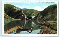 *Gates of the Mountains Missouri River Montana Vintage Postcard B34