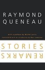 French Modernist Library: Stories and Remarks by Raymond Queneau (2000,...