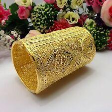 Indian Asian Size:2.4-2.6 Pakistani Bridal Jewellery 22ct Gold Plated Bracelet