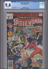 Spider-Woman #2 CGC 9.4 1978 Marvel Comics  Marv Wolfman Story