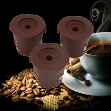 1pc Refillable Coffee Capsules Pod For Nespresso Stainless Steel Filters URJV