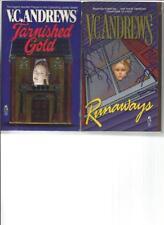 V. C. ANDREWS - TARNISHED GOLD - A LOT OF 2 BOOKS