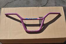 """GT Performer Lavender old bmx handlebars pro freestyle bike 20"""" 87 dyno detour"""