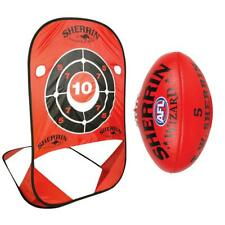 Sherrin AFL Handball Practice Target & Wizard Football Size 5 SALE RRP $119.99