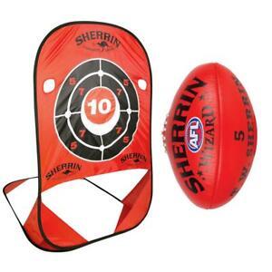 Sherrin AFL Handball Practice Target & Wizard Football Size 5 SALE RRP $119.99