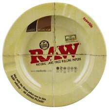 "Raw Round Metal Ashtray - Magnetic / 5.5"""