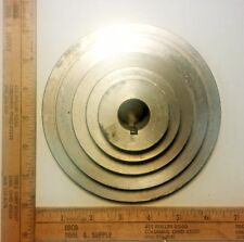 "5 Step Cone Pulley A V 6"" Diameter New Die Cast 7/8"" Bore"