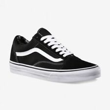 e03fe6d6109898 Vans Old Skool Skate Shoes Black White unisex sizes