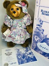 Robert Raikes Bear Sophie Mothers Day Edition Box COA Tag 357/5000