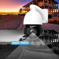Built-in POE IP Camera 5MP HD 2592x1944 Pan/Tilt 30X Zoom Speed Dome Cameras