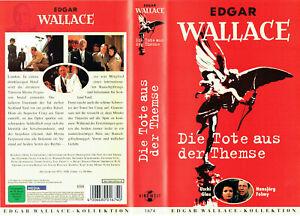 (VHS) Edgar Wallace - Die Tote aus der Themse - Uschi Glas, Hansjörg Felmy