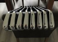 TaylorMade PSI Irons 4-AW (8 clubs) Stiff Shaft +1inch