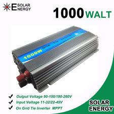1000W MPPT Solar On Grid Tie Inverter For 10.8V~45V  Panel To 110V / 230V
