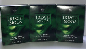 SIR Irisch Moos After Shave Lotion 3 x 150 ml