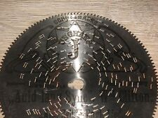 "RAR SYMPHONION dentatura esterna piastra di lamiera 11,5cm JUNGHANS OROLOGIO 4 1/2"" DISC Clock"