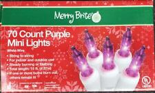 Merry Brite Christmas Lights Purple- 70