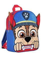 NEU Jungen PAW PATROL Junior Rucksack mit Ears- Kinder Blau Rucksack Schultasche