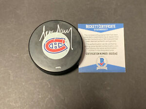 Denis Savard Montreal Canadians Autographed Signed Puck Beckett COA