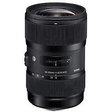Sigma Kamera-Objektive mit 18-35mm Brennweite