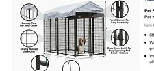 Dog steel kennel