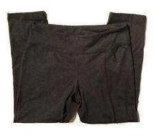 """prAna """"Breathe"""" Womens Gray Long Capri Pants Yoga Leggings Size L Large"""