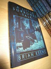 Brian Keene A LITTLE SORROW TALK 1st/HB SIGNED/LIMITED MINT Thunderstorm